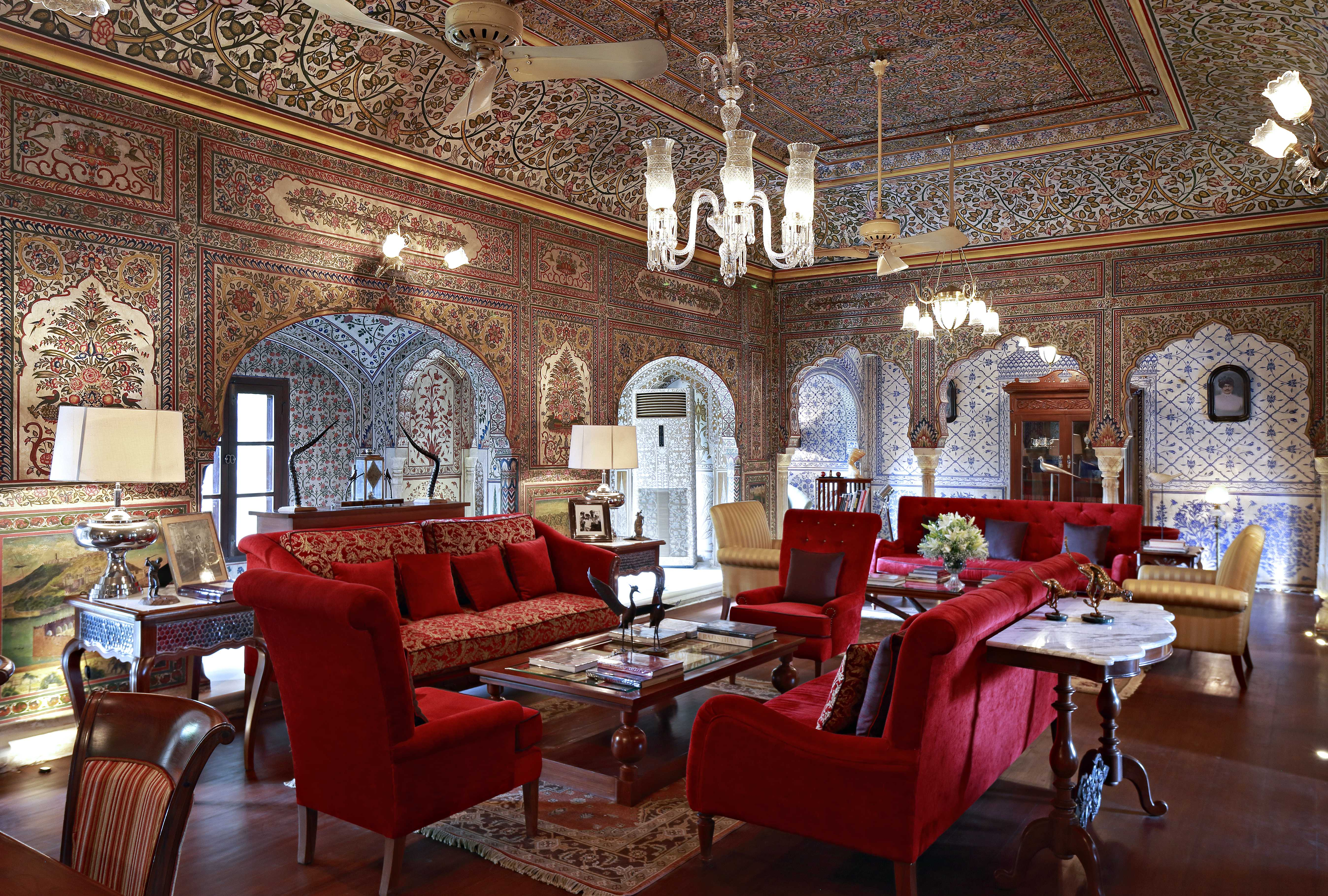 House design jaipur - An Urban Oasis In The Historic Walled City Of Jaipur Samode Haveli Is A Traditional Indian Mansion Set In A Verdant Garden With Apartments Arranged Around